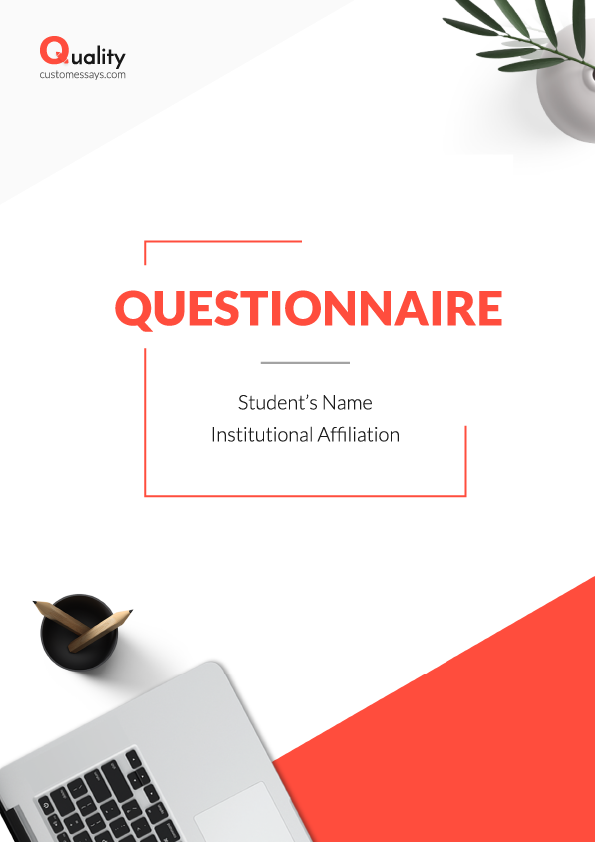 Questionnaire writing