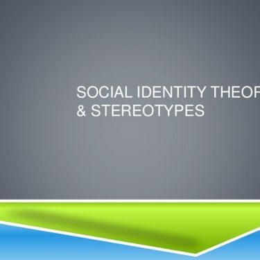 Social Identity
