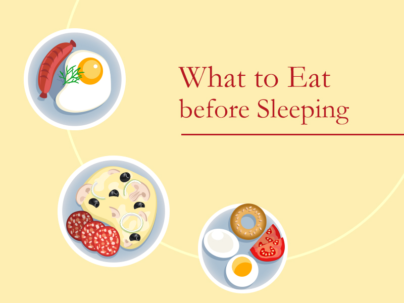 eat before sleeping