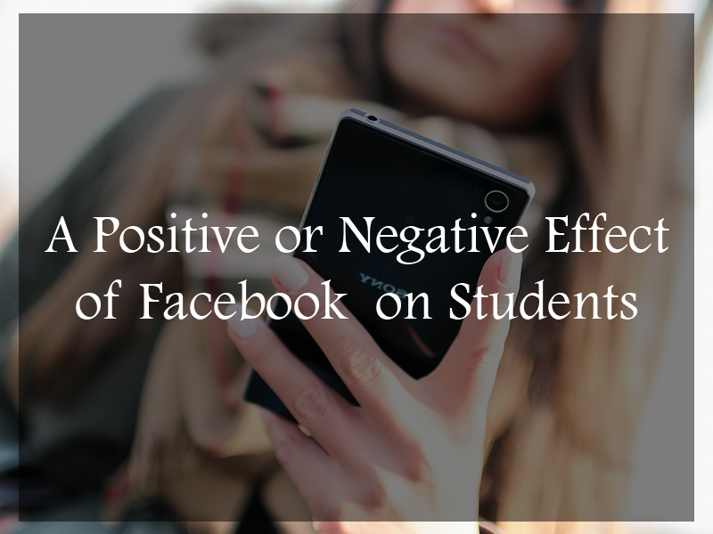 Effect of Facebook on Students