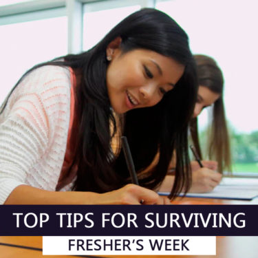 Tips for Fresher's Week