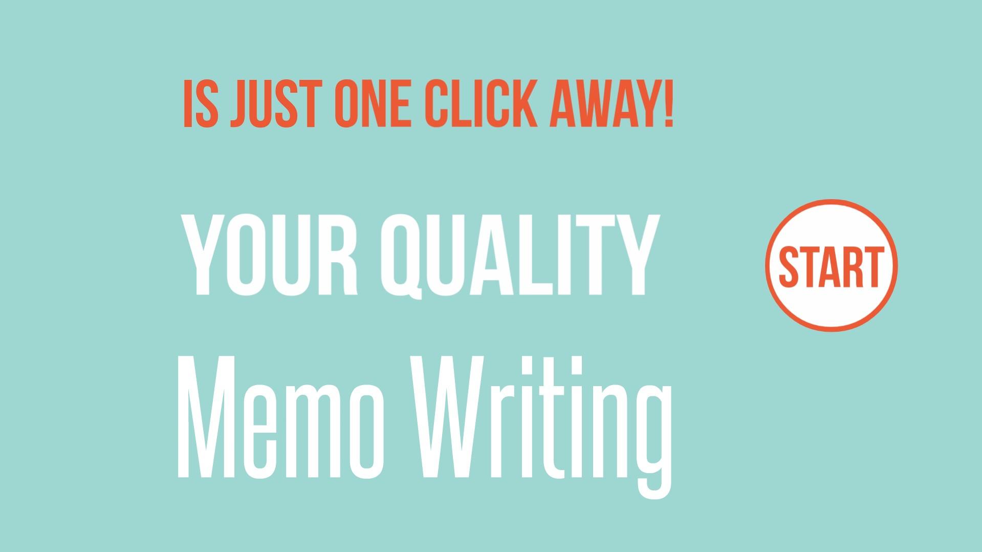 buy memo essay