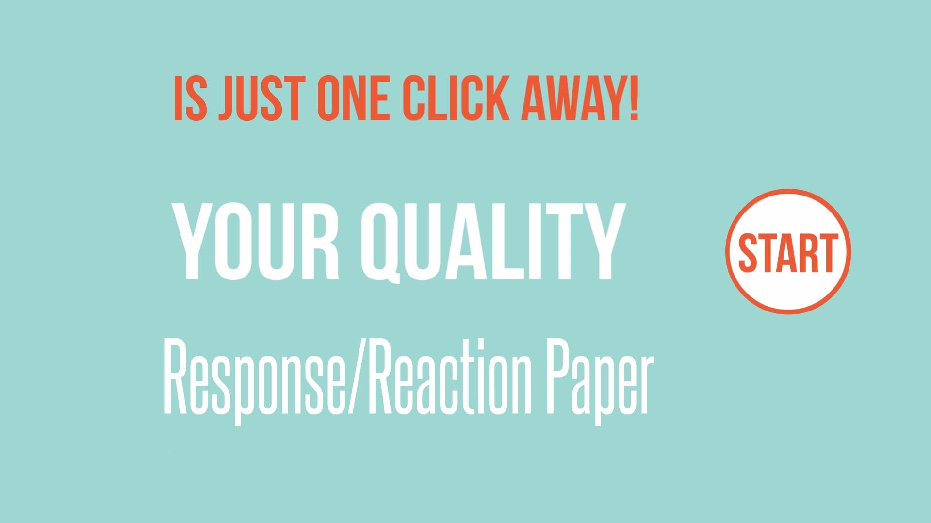 buy response paper