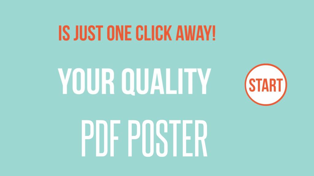 PDF Poster Service
